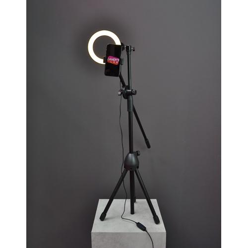 supporto per smartphone con luce led