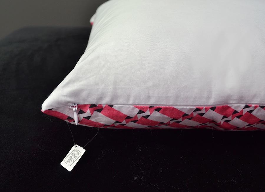 cuscino con pattern