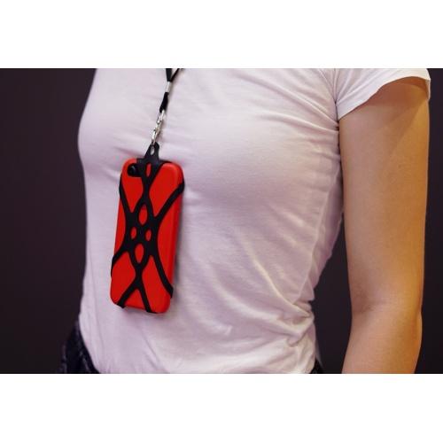 porta cellulare a collana