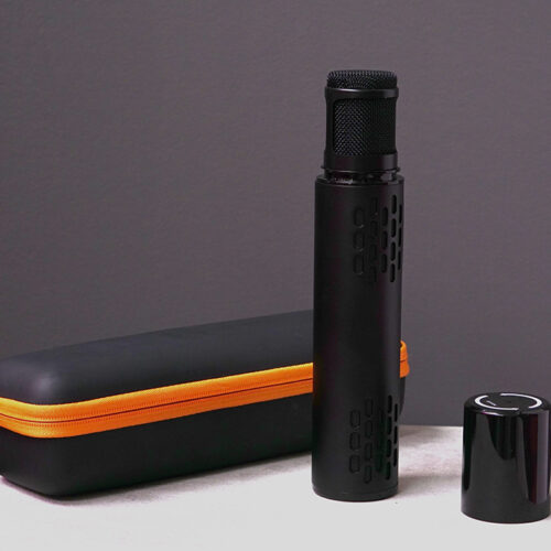 Microfono karaoke colore nero