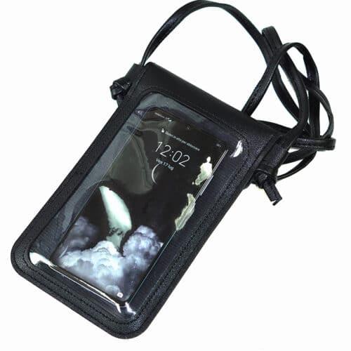 custodia a tracolla per smartphone
